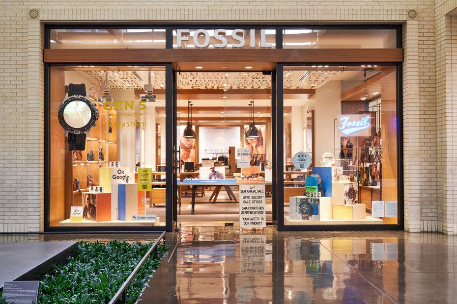 Fossil store at NorthPark Center in Dallas.