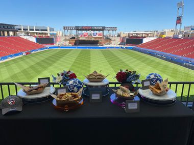 FC Dallas unveils new food items ahead of the 2021 MLS season.