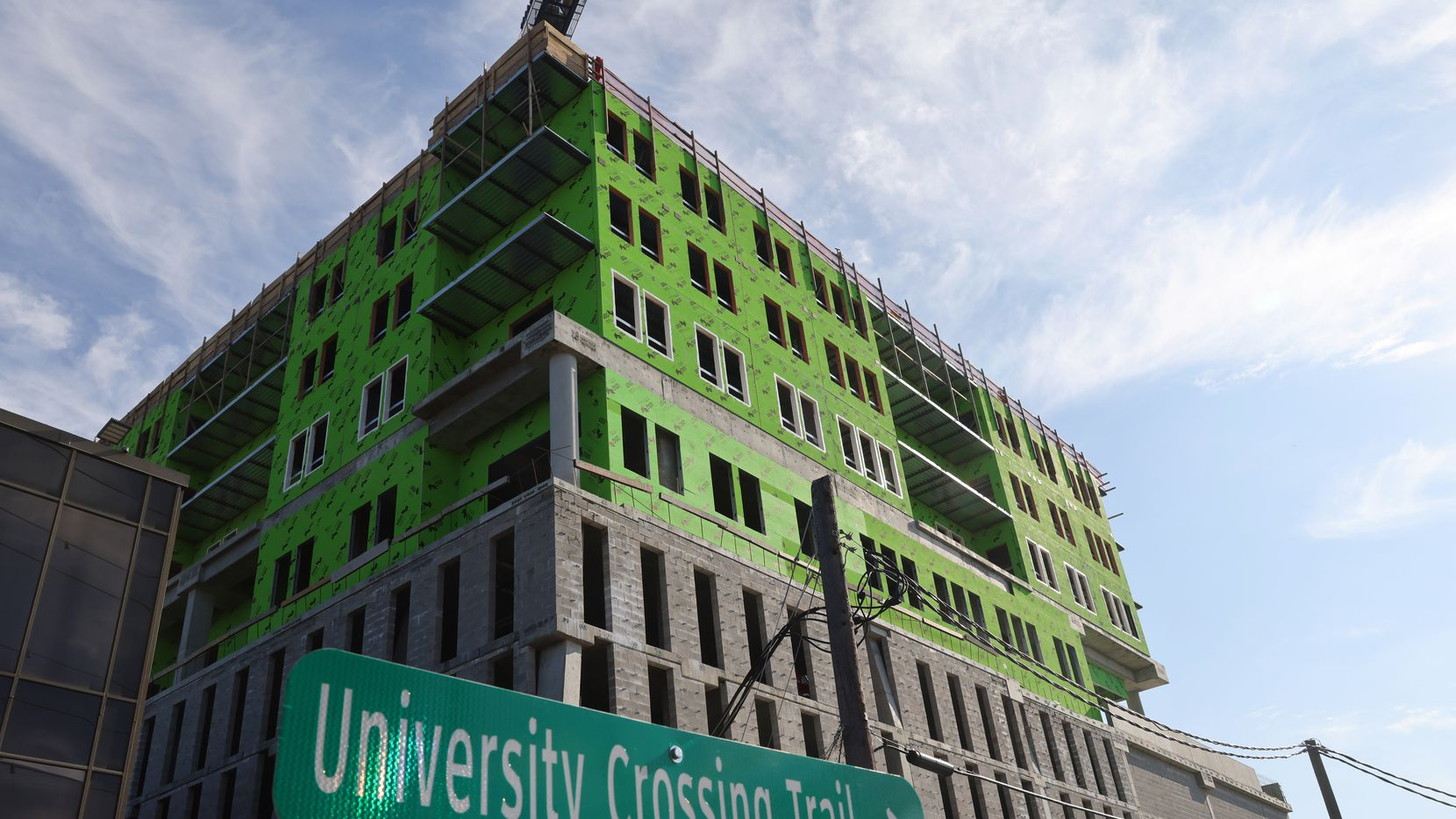 Mill Creek Residential's Modera Katy Trail high-rise will also have connections to the University Crossing Trail, which runs from Mockingbird Station.