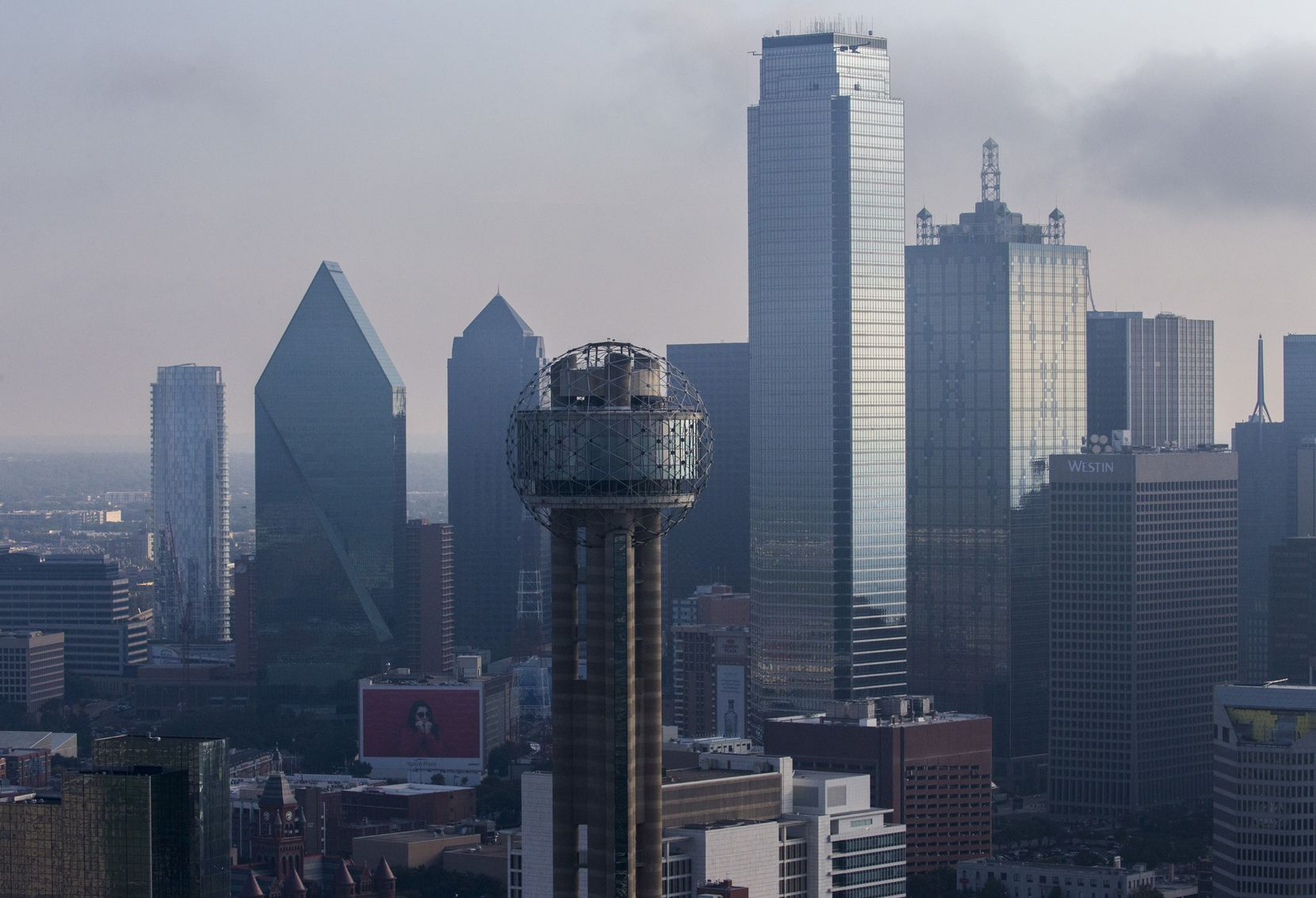 Reunion Tower is probably the most recognized landmark on Dallas' skyline.