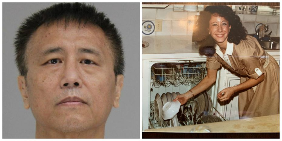 George Guo (left) was found guilty of capital murder in September 2018 for Katherine Bascone's death.