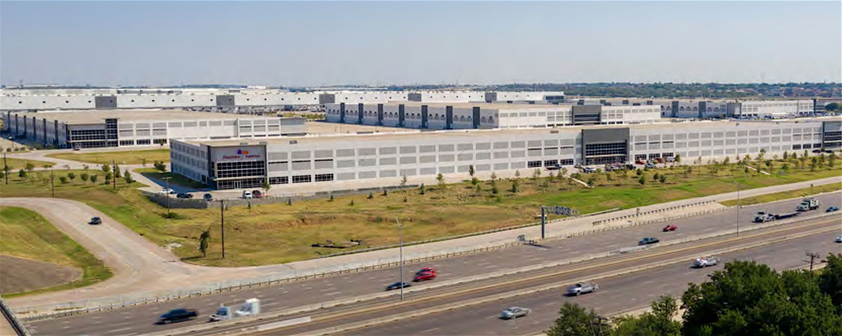 Gateway Logistics Center is more than 95% leased.