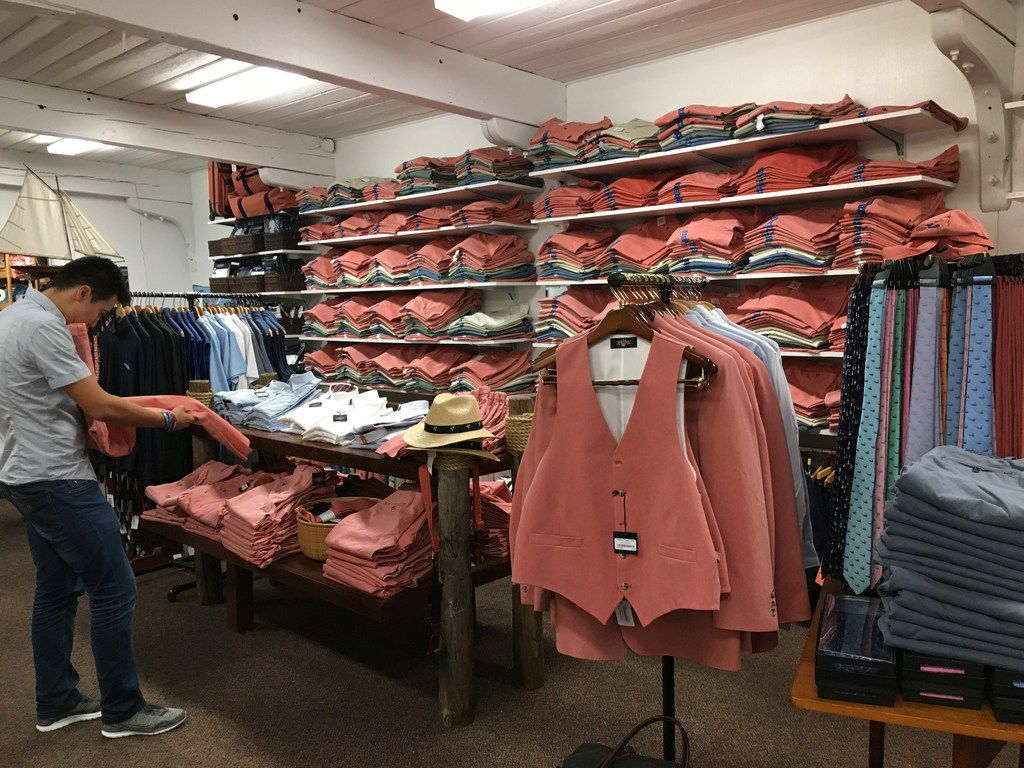 Murray's Toggery Shop is famous for launching the Nantucket Reds clothing line in the late 1950s.