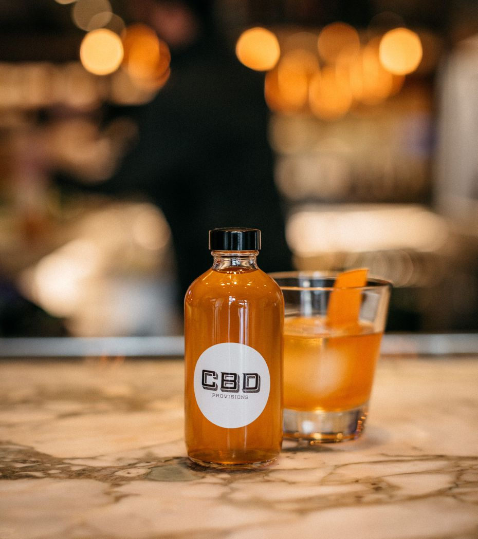 CBD Provisions is selling a gussied up Old Fashioned cocktail named Bad Luck Piggy. It can be purchased in the restaurant or ordered to go.
