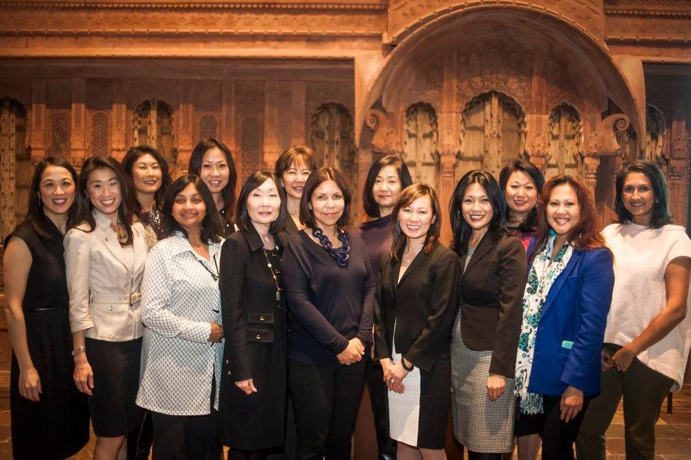 Members of the  Orchid Giving Circle awarded grants to nonprofits at the Crow Collection of Asian Art in Dallas.