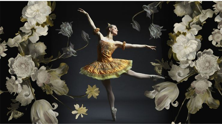 Texas Ballet Theater company member Paige Nyman.
