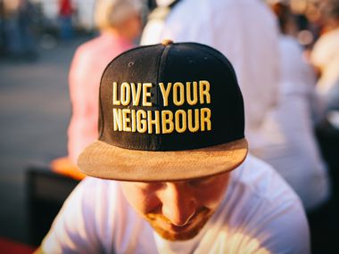 In times of crisis, we all need to be good neighbors and lend a helping hand where and when we can.