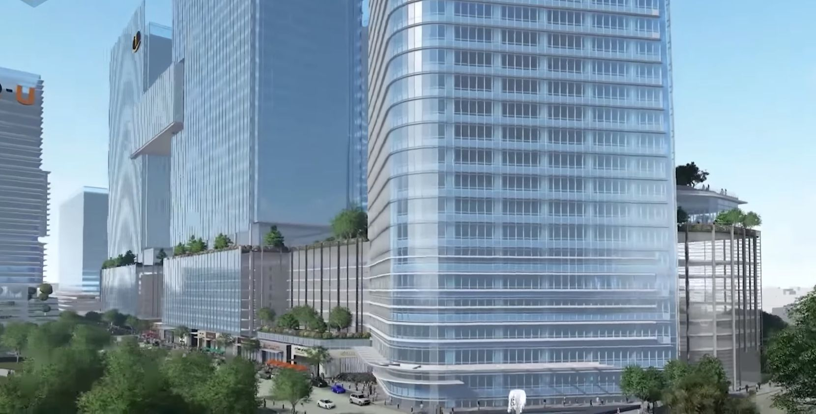 With the Amazon decision made, KDC is pitching its huge high-rise campus on the south side of downtown to other companies.