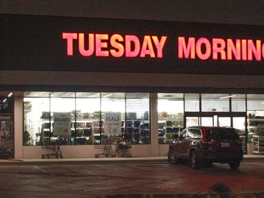 Tuesday Morning store located at 6465 E. Mockingbird Ln in Dallas.