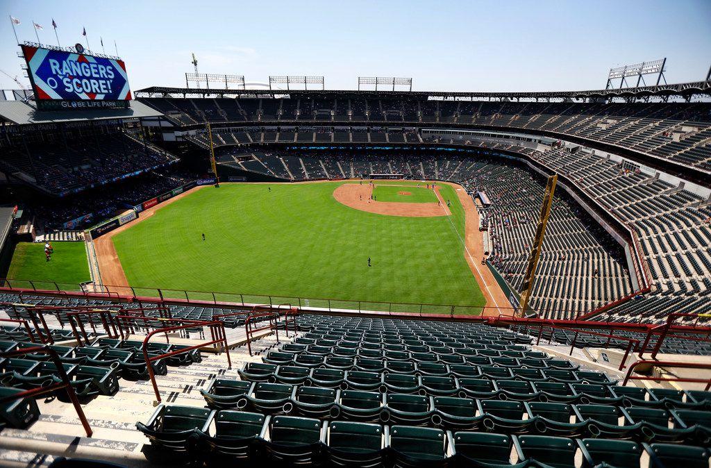 Globe Life Park will be the new home of Dallas' XFL team. (Tom Fox/The Dallas Morning News)