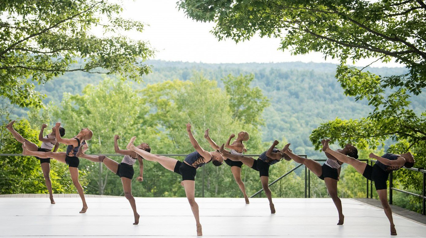 Dallas Black Dance Theatre opened its 45th season at the renowned Jacob's Pillow Dance Festival in Massachusetts.