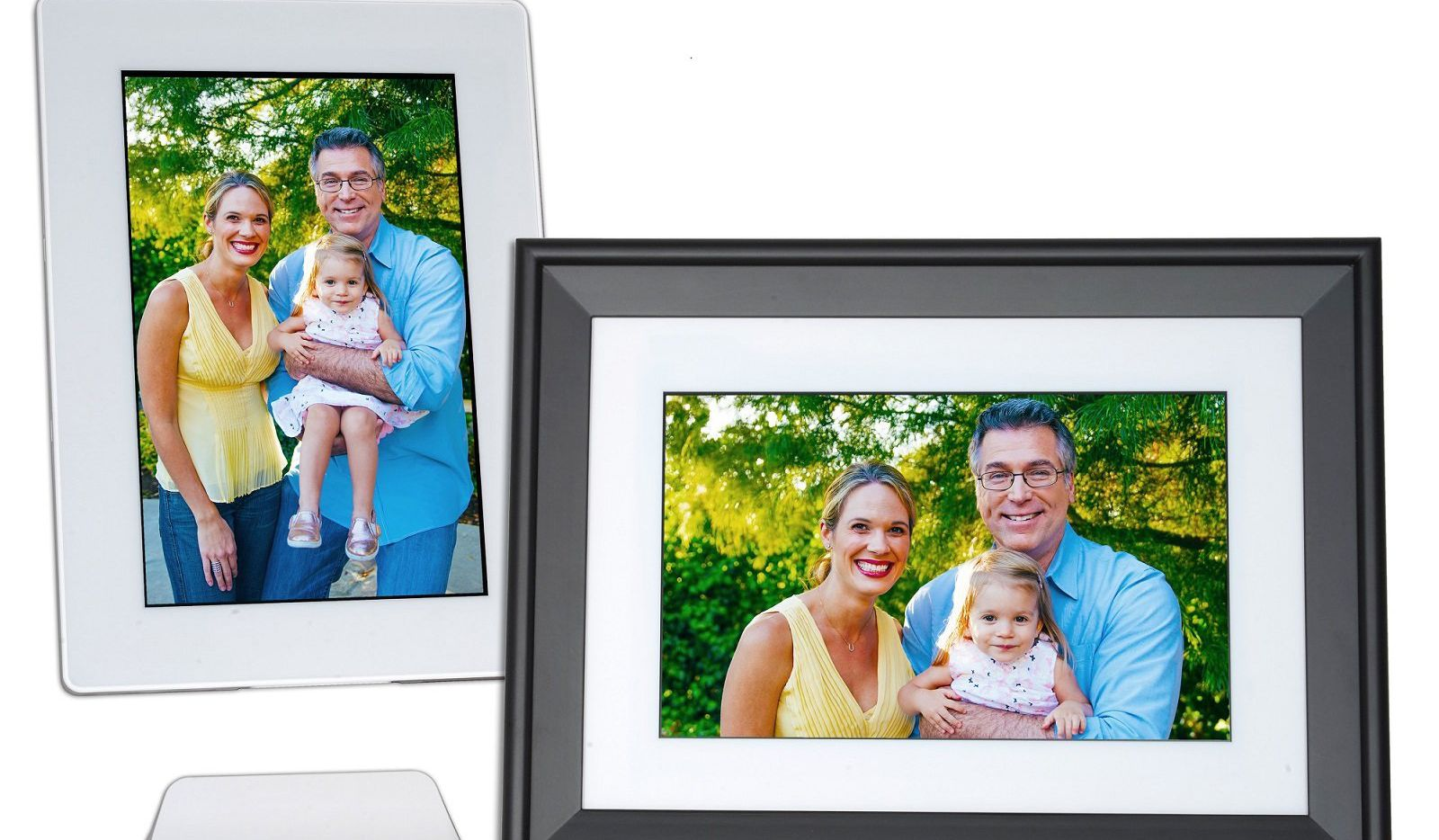 The PhotoSpring 10 Premium Smart Digital Photo Frame is easy to set up.