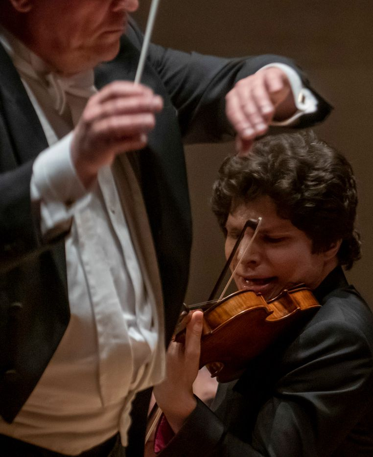 Violin soloist Augustin Hadelich performs with the Dallas Symphony Orchestra under guest conductor John Storgards.