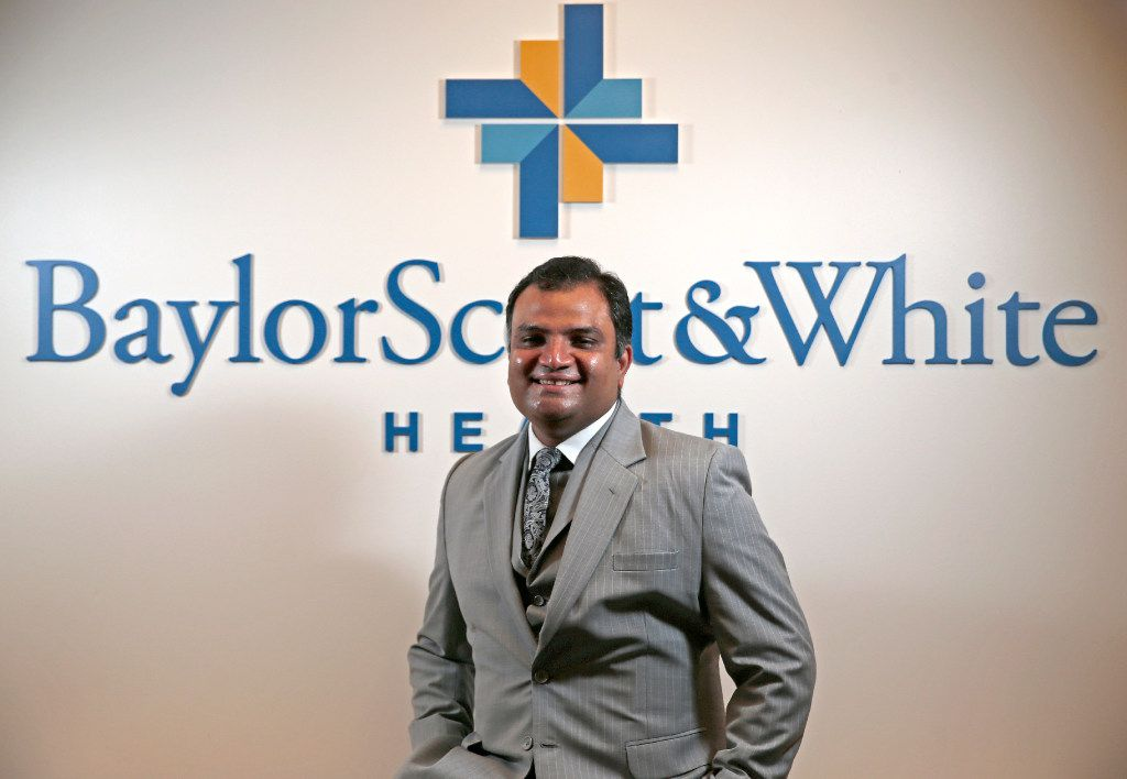 Nick Reddy, Chief Digital Officer and Senior Vice President of Information Services at Baylor Scott & White Health (Jae S. Lee/The Dallas Morning News)
