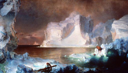 The mast in the foreground of  Frederic Edwin Church's The Icebergs, one of the Dallas Museum of Art's signature paintings,may refer to the Franklin  expedition. The link  will be discussed when author Paul Watson visits on March 21.