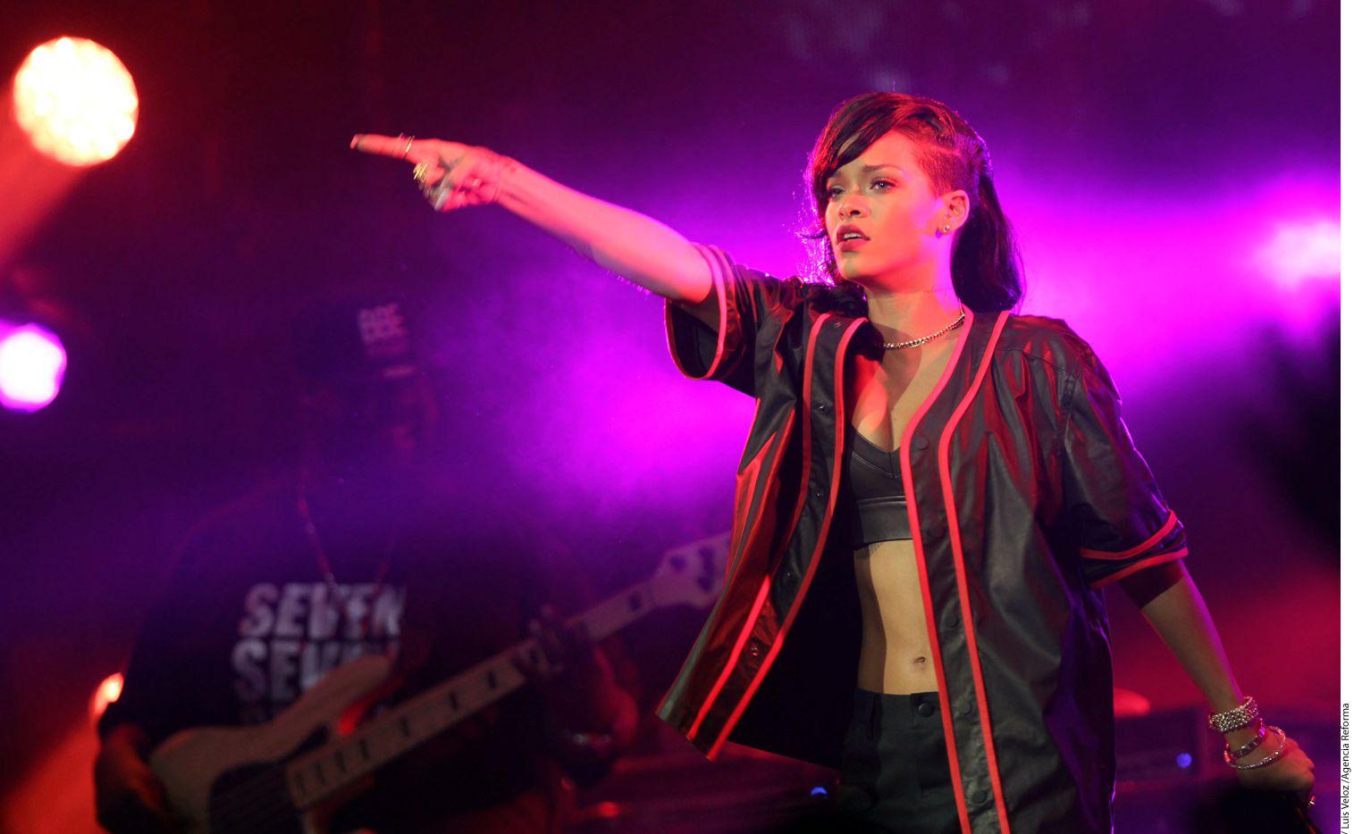 Rihanna emprenderá el próximo 26 de febrero su gira The Anti World Tour al lado de su novio Travis Scott./ AGENCIA REFORMA