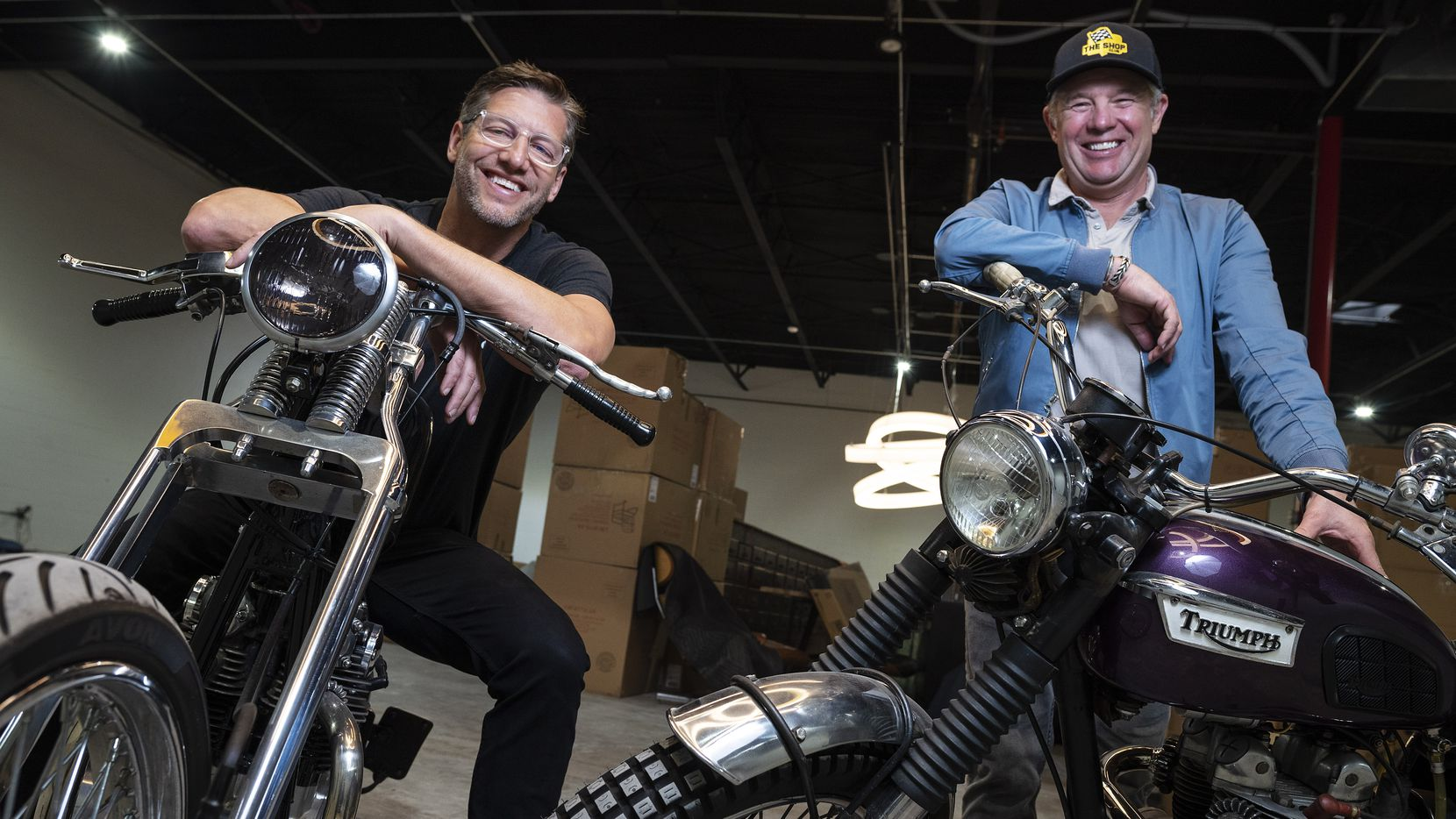 Matt Bell (left), founder of The Shop, is working with Dallas restaurateur Nick Badovinus for a restaurant named Derby that will open in Dallas in April 2021.