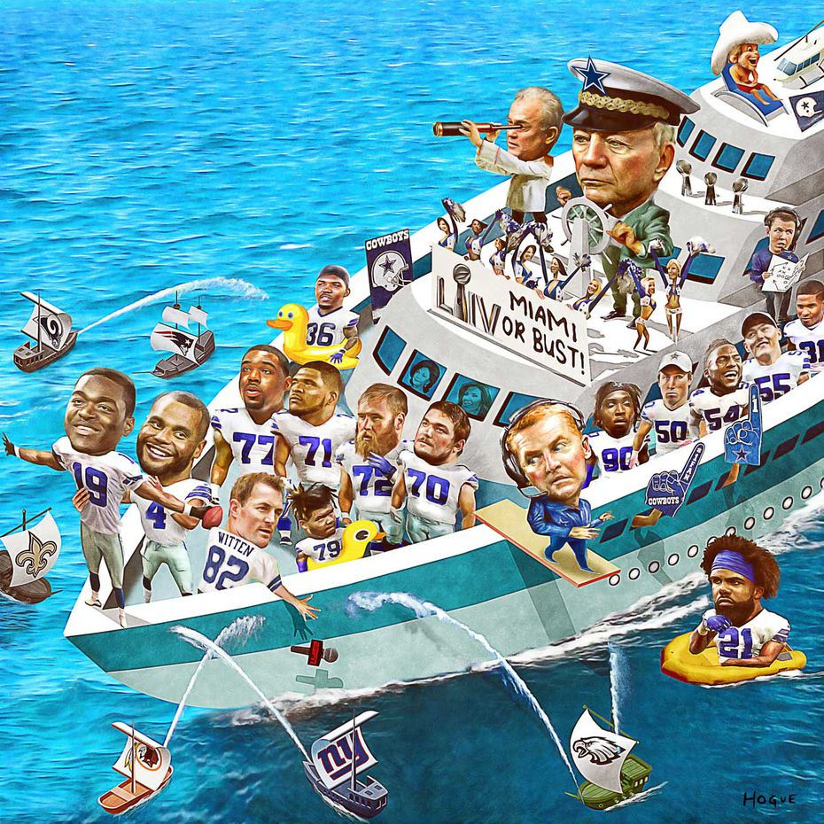 Jerry Jones will have his yacht in Miami during Super Bowl week one way or the other. Will the team be with him? If not, there will be consequences.