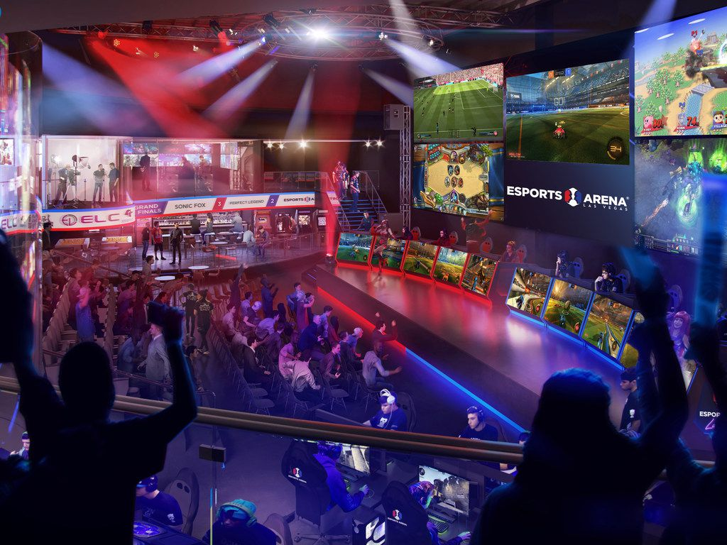 Esports Arena Las Vegas, which will boast a massive LED wall, is expected to host at least 25 major events annually.