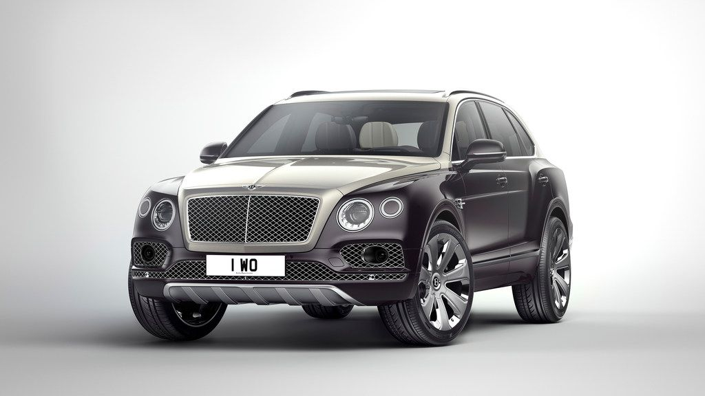 The Bentley Bentayga Mulliner, which Bentley calls the Ultimate Luxury SUV, comes with an optional Duo Tone paintwork, 22-inch wheels, and a bespoke embroidered interior in contrasting colors.
