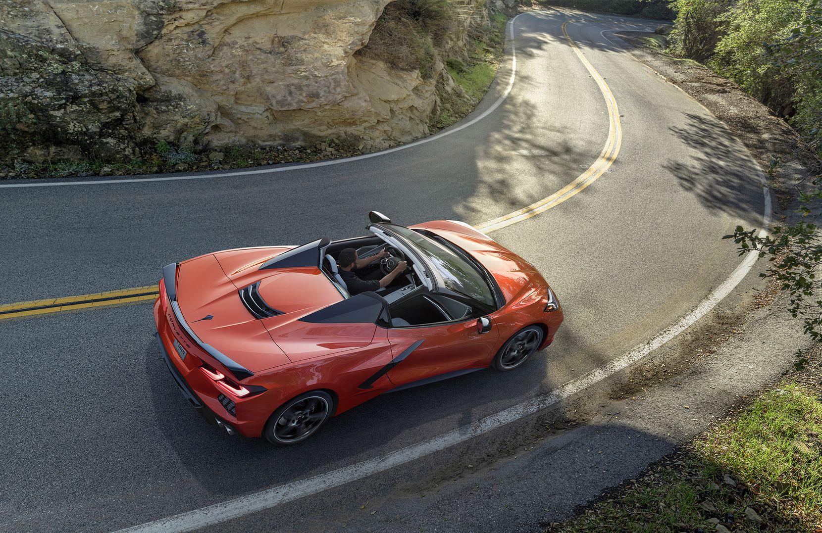 The 2020 Chevrolet Corvette Stingray convertible. (Chevrolet/TNS)