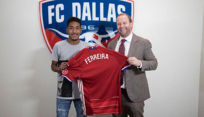 Jesús Ferreira fue firmado por FCD en 2016.