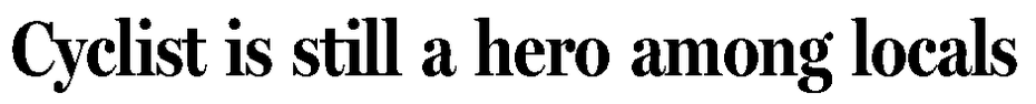 Headline from Aug. 25, 2012 article.