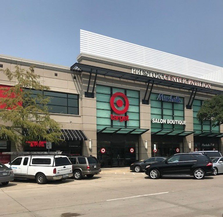 Target is having its grand opening in the Pavilion building at Preston Center in Dallas on Oct. 21, 2018.