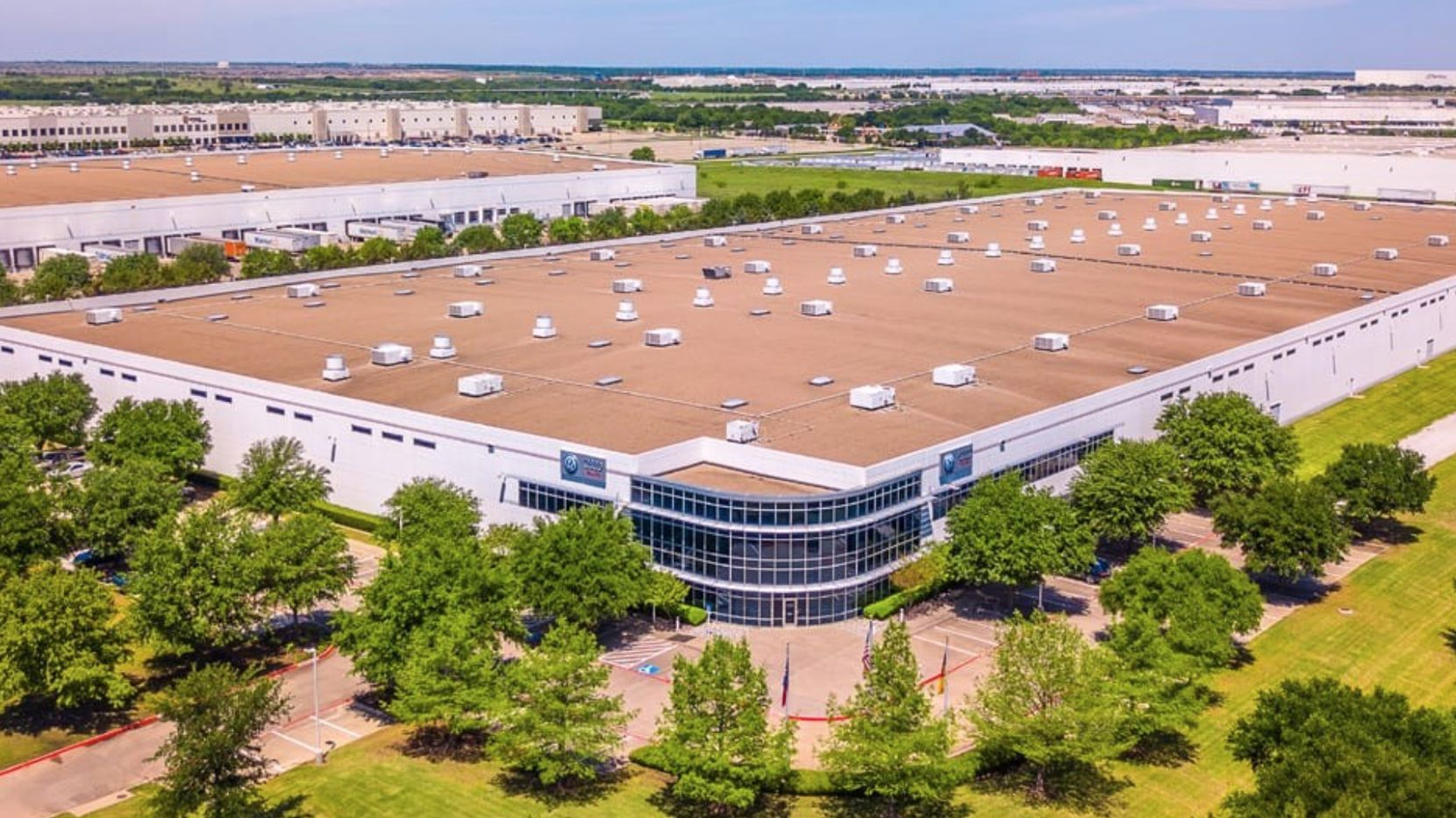 The North Texas purchases included the 120 Intermodal Parkway building in Haslet north of Fort Worth.