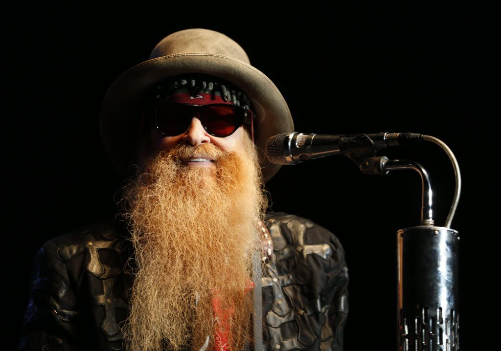 Guitarist Billy Gibbons of ZZ Top.