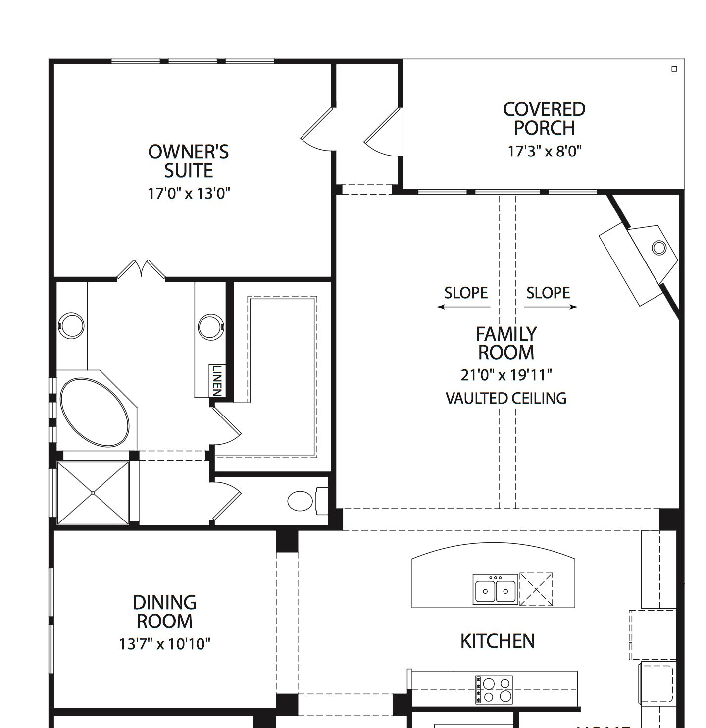 """Some homebuilders are already opting for  """"owner's suite"""" instead of master bedroom."""