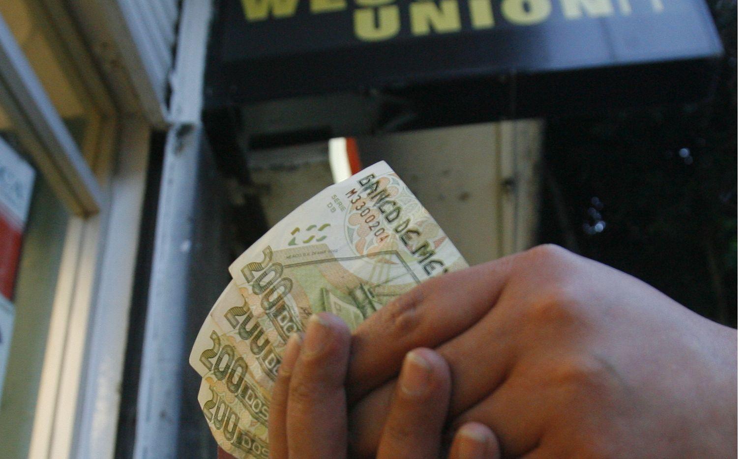 Captación de remesas en la Ciudad de México.