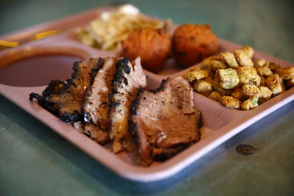 Lunch starring brisket at the Slow Bone in 2013