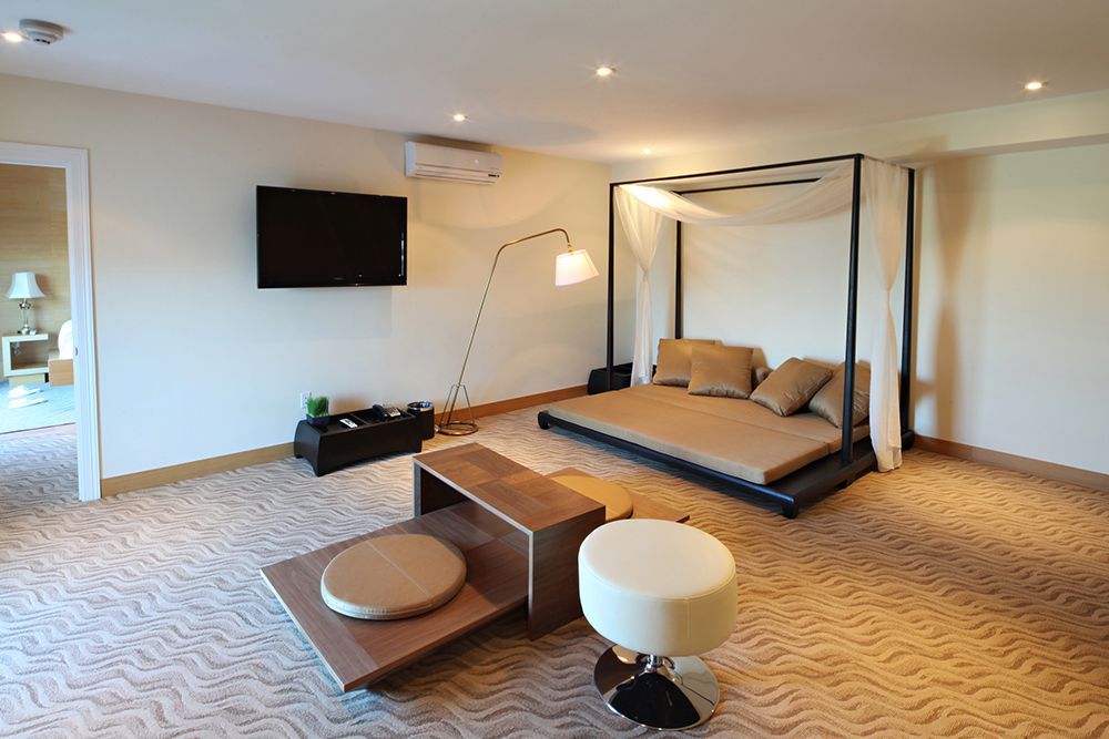 An executive suite at The One Boutique Hotel