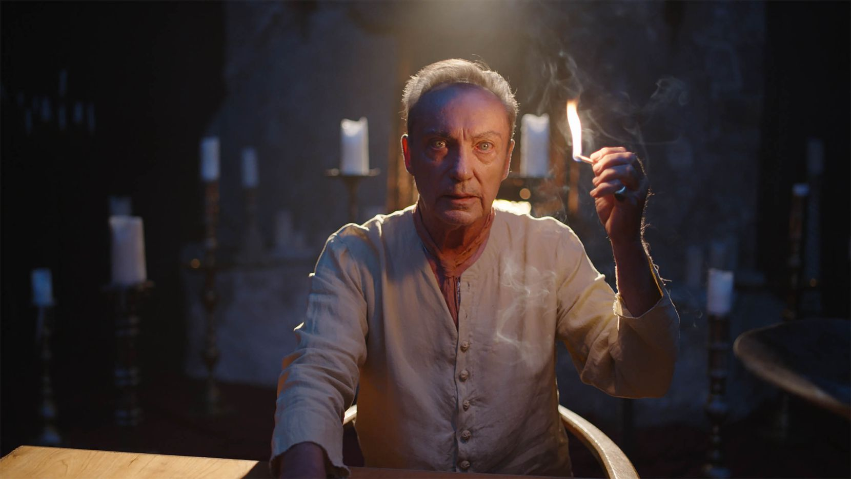 "Udo Kier appears in ""The Blazing World"" by Carlson Young."