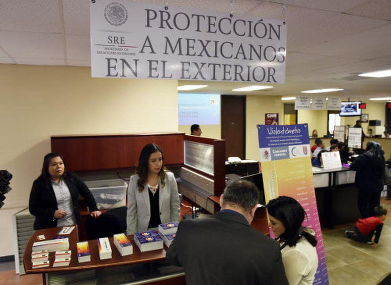 La ventanilla de Protección para los mexicanos que residen en el exterior busca dar asesoría a migrantes en el Consulado de México en Dallas. (ESPECIAL PARA AL DÍA/BEN TORRES)