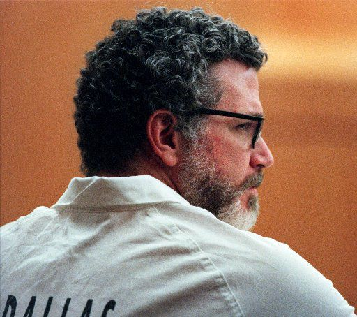 John Battaglia, charged with capital murder in the deaths of his two young daughters, appears in Criminal District Court No. 1 in the Frank Crowley Courts Building during a court appearance in Dallas, TX on Wednesday, June 27, 2001.