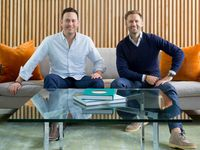 Jonathan Abelmann (left) and Melbourne O'Banion are co-founders of Dallas-based life insurance startup Bestow.