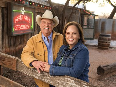 Tom and Lisa Perini own Perini Ranch Steakhouse in Buffalo Gap, Texas, and they have a new cookbook,  Perini Ranch Steakhouse: Stories and Recipes for Real Texas Food.