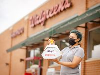 The Walgreens on Eldorado Parkway in Little Elm will deliver small purchases to residents initially in Frisco and Little Elm. Wing, a sister company of Google, has drones that can carry up to 3 pounds in a recyclable cardboard package.