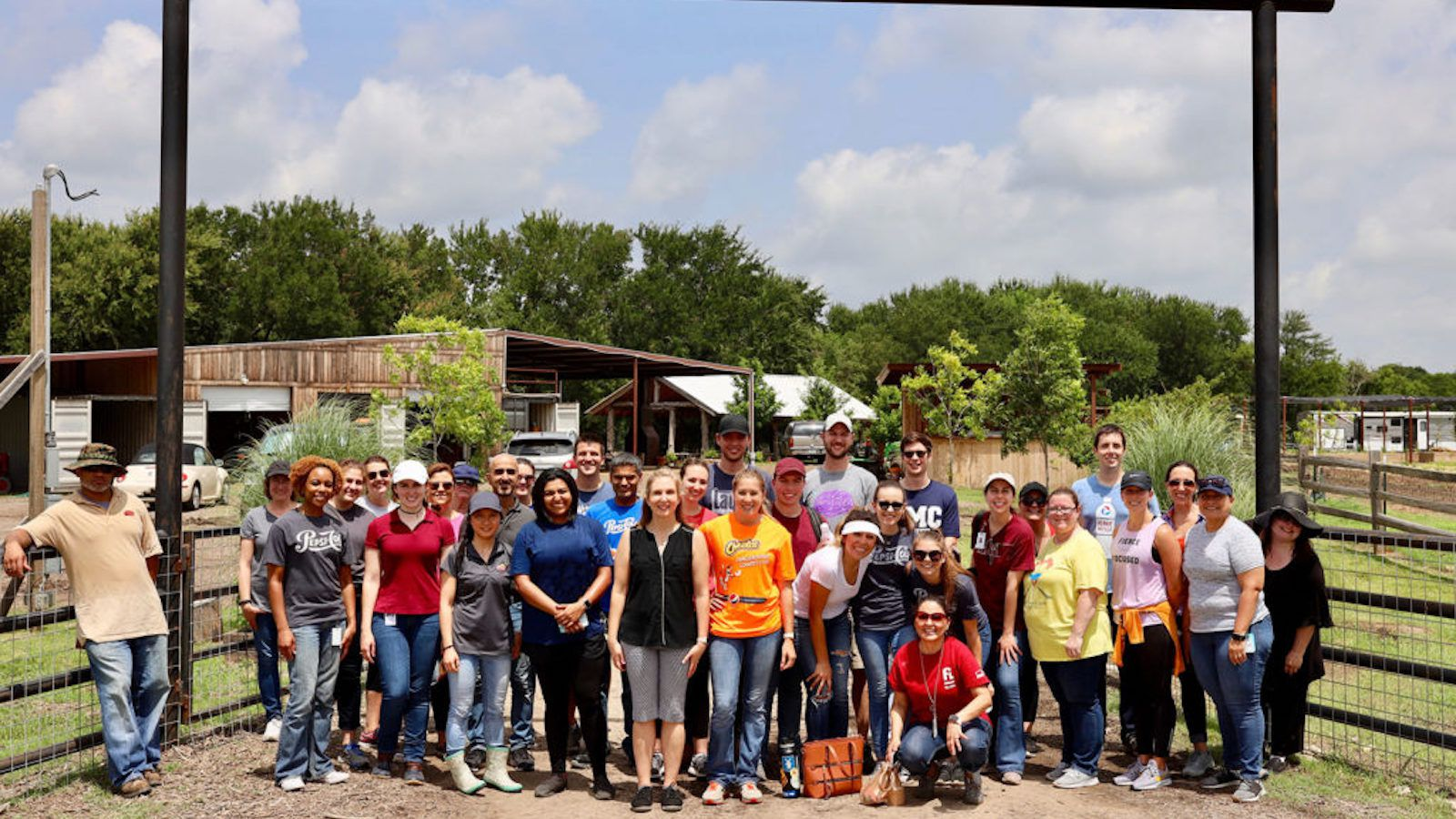 Frito-Lay employees recently visited Bonton Farms to take part in planting, gardening and other vital work at the farm as part of its Southern Dallas Thrives initiative.