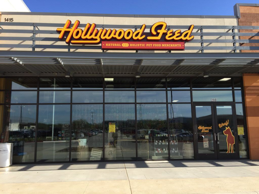 Memphis-based Hollywood Feed entered the Dallas-Fort Worth market in 2014. This store is located at City Line in Richardson. It now has 20 stores in the market and plans to open 20 more in the next few years.