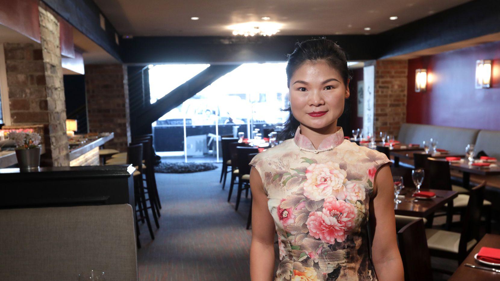 Jia Huang en Jia Modern Chinese, un restaurante en Preston Road que ha visto un bajón en su clientela en el último mes.