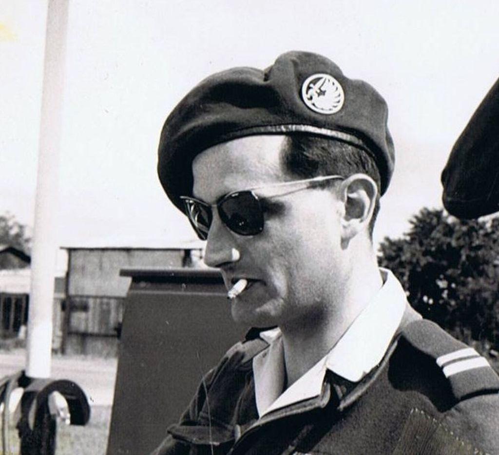 Robert de la Rochefoucauld, circa 1956. From Paul Kix's The Saboteur: The Aristocrat Who Became France's Most Daring Anti-Nazi Commando.