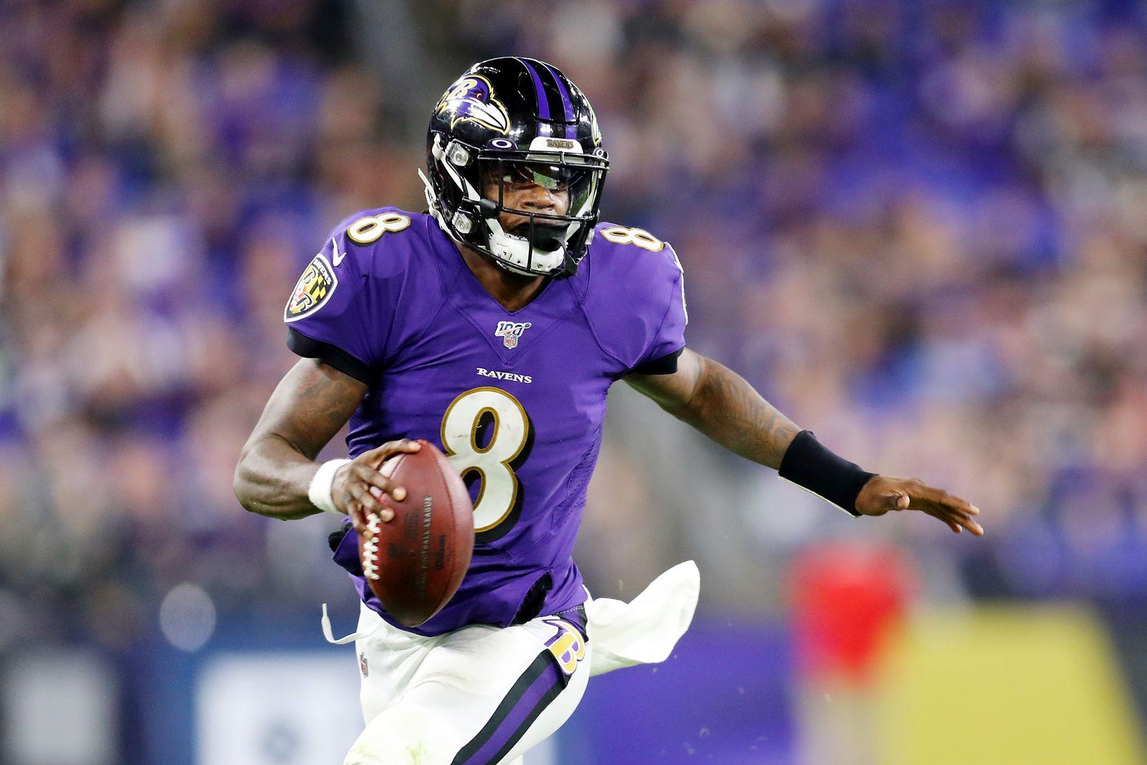 Lamar Jackson es el prototipo del quarterback moderno con los Ravens de Baltimore.