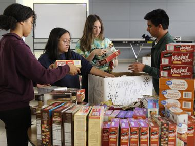 Last year, students at McKinney's high schools donated more than 850 meals through MacTown Miracles.