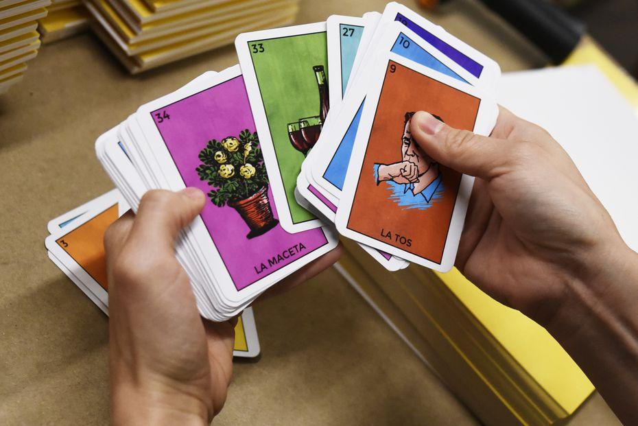 La versión de Lotería Cuarentena, el popular juego mexicano adaptado a los tiempos del coronavirus por Versa Printing.