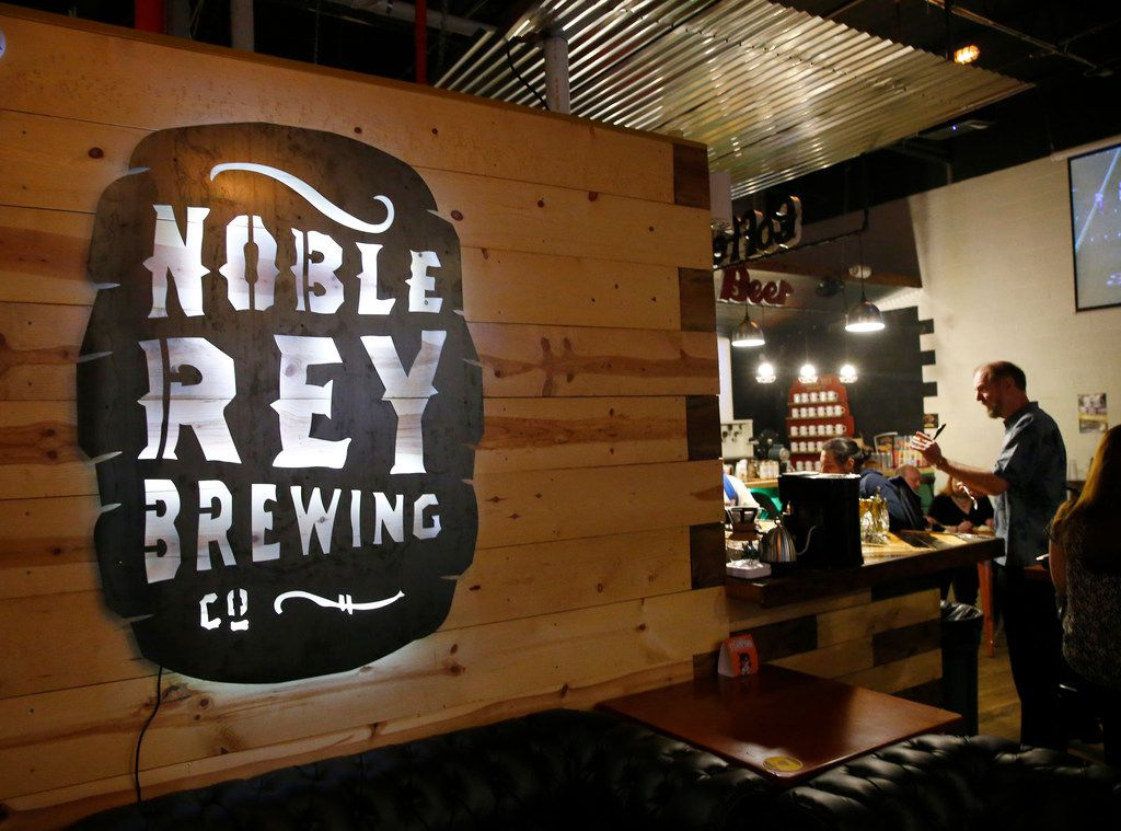 Noble Rey Brewing Company in Dallas on Friday, Jan. 22, 2018. (Nathan Hunsinger/The Dallas Morning News)