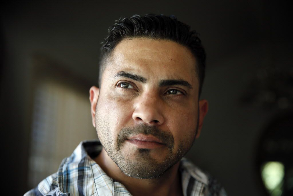 Marcus Calvillo had given up hope of ever clearing his name after his identity was stolen by a convicted sex offender Fernando Neave-Ceniceros. (AP Photo/Tony Gutierrez)