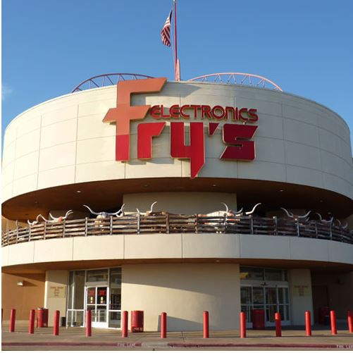 Fry's Electronics at 12710 Executive Drive in Dallas.